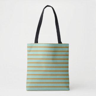 Florilla Vintage Striped Tote Bag