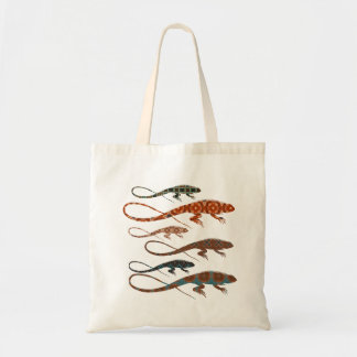 Florilla's Lizards Tote Bag