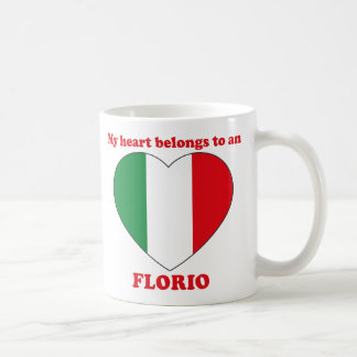 Florio Classic White Coffee Mug