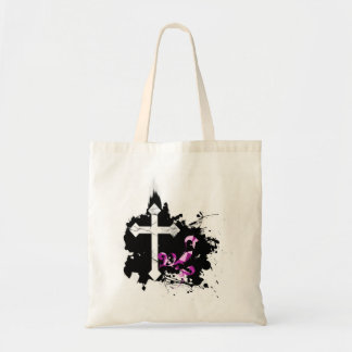Florished Cross Tote Bag