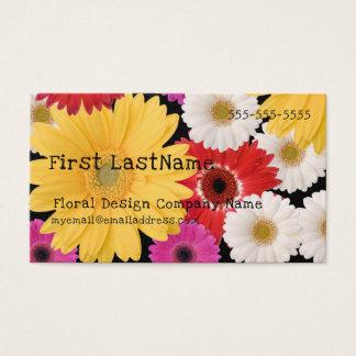 Florist or Floral Designer Business Card
