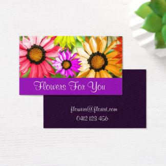 Florist shop flowers for You Business Card