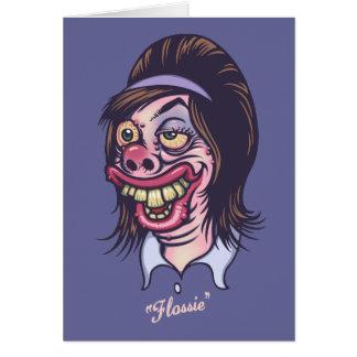 Flossie Card