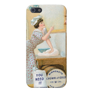 Flour Bakery Vintage Food Ad Art iPhone 5 Cover