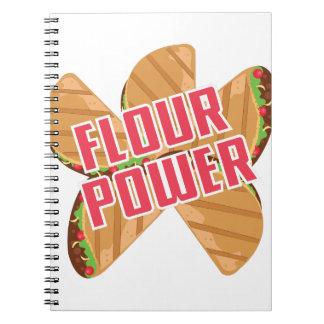 Flour Power Notebook