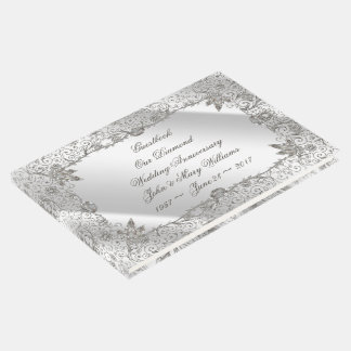 Flourish Diamond 60th Anniversary Guestbook