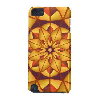 Flourish géométrique d'or coque iPod touch 5G
