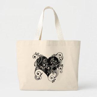 flourish large tote bag