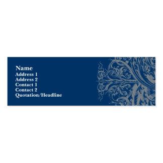 Flourish Profile Card Business Card Template