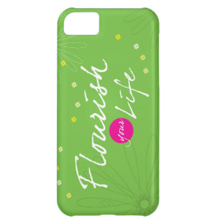 Flourish Your Life iPhone 5C Cover