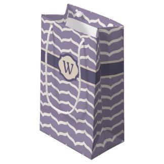 Flourished Zigzag Gift Bag