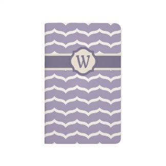 Flourished Zigzag Pocket Journal