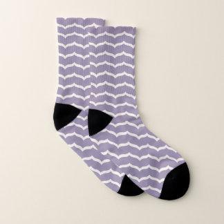 Flourished Zigzag Socks 1