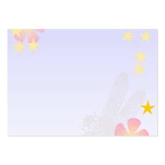 [FLOW-004] Dragonfly flowers Business Card Template