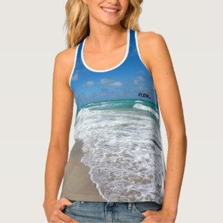 flow beach yoga top