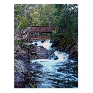 Flow From The Bridge Postcard