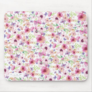 Flow - LONDON - Floral MousePad/Mousemat Mouse Pad