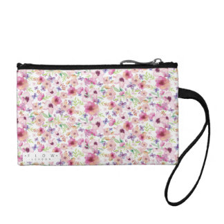 Flow - LONDON -  Small Floral Clutch Bag