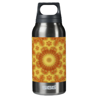 Flow of Creation Mandala Insulated Water Bottle