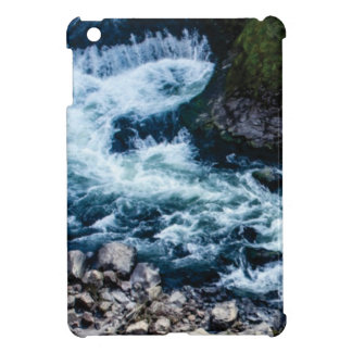 flow of the river white iPad mini cover