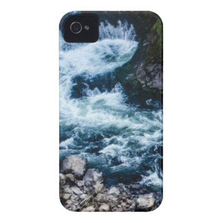 flow of the river white iPhone 4 cover