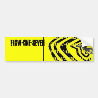 Flow-One-Seven Bumper Sticker