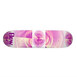 Flow Purple Eye Skate Board Decks