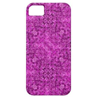 Flow Purple Kaleidoscope Design iPhone 5 Cases