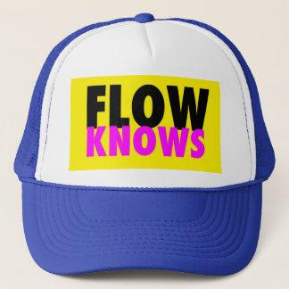 FLOW TRIBE FLOW KNOWS TRUCKER TRUCKER HAT