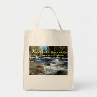 Flow with the Universe Tote Bag