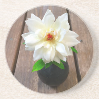 flower18 beverage coaster