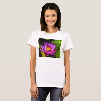 Flower 01 Waterlily Digital Art - Tee