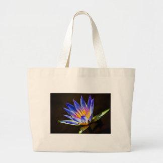Flower 053 Waterlily Digital Art - Bag