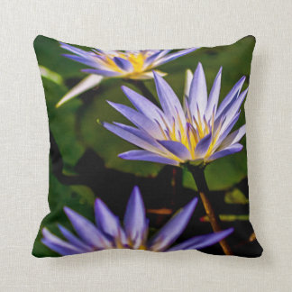 Flower 067 Waterlily Digital Art - Pillow