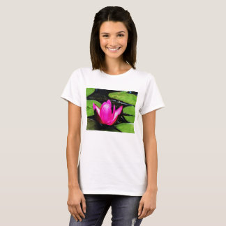Flower 17 Waterlily Digital Art - Tee