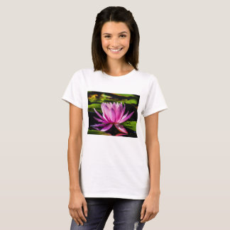 Flower 19 Waterlily Digital Art - Tee