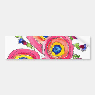 Flower 1 bumper sticker