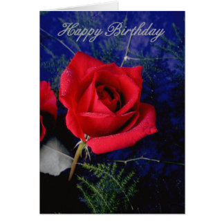 Flower 207 bday card front