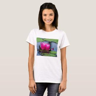 Flower 20 Waterlily Digital Art - Tee