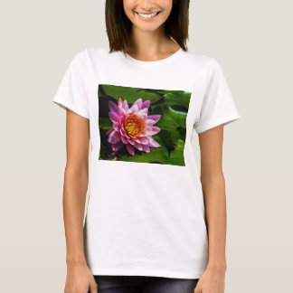 Flower 21 Waterlily Digital Art - Tee