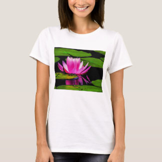 Flower 29 Waterlily Digital Art - Tee