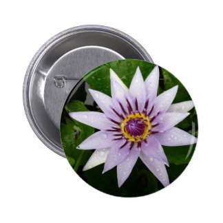 flower 2 inch round button