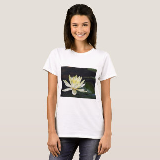 Flower 47 Waterlily Digital Art - Tee