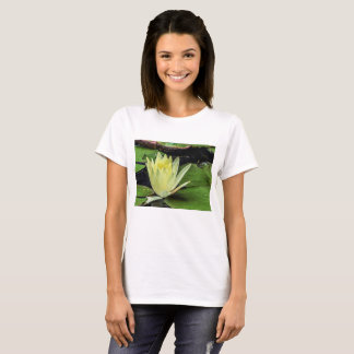Flower 50 Waterlily Digital Art - Tee