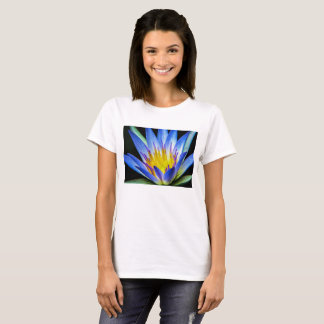 Flower 55 Waterlily Digital Art - Tee