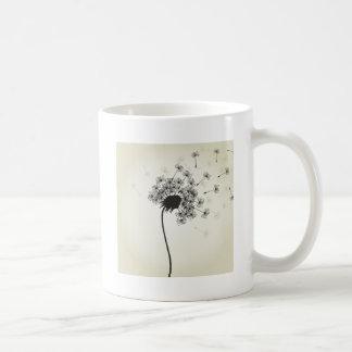 Flower a dandelion coffee mug