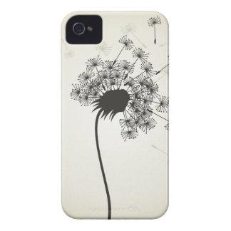Flower a dandelion iPhone 4 Case-Mate cases