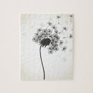 Flower a dandelion puzzles