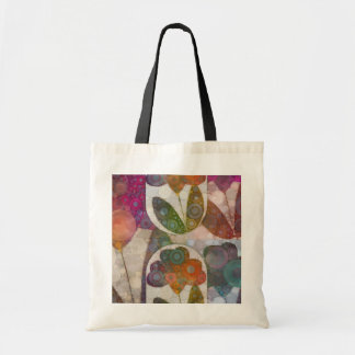 Flower Abstract Bags