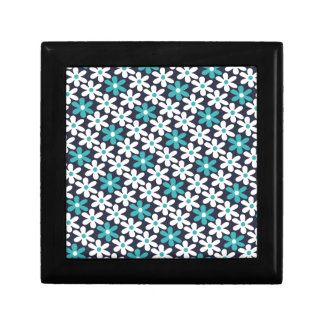 flower abstract pattern gift box